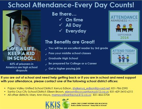KKIS Poster - Every Day Counts